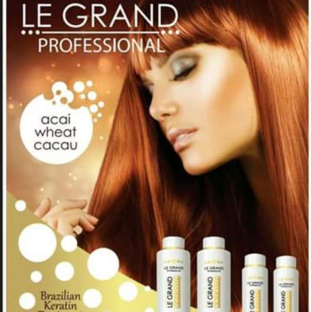Le Grand Brazilian Keratin Kit (Clarifying Shampoo + Keratin Treatment)