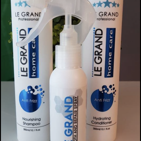 Le Grand Anti Frizz Keratin Shampoo/Conditioner and Poly Keratin Spray