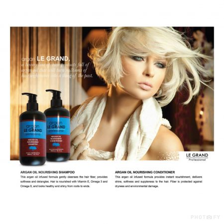 Le Grand Argan Shampoo and Conditioner