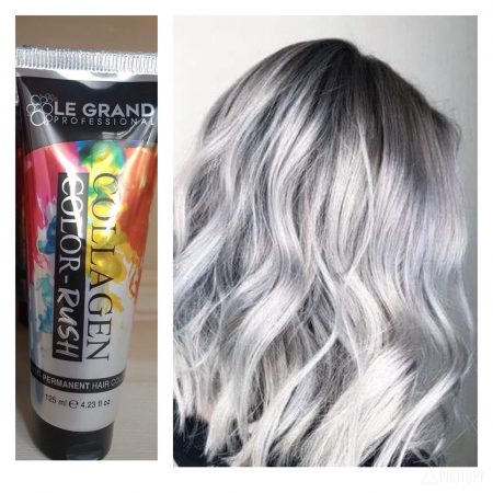 Collagen color burst- Silver