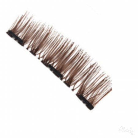 3D Magnetic full lashes – Brown